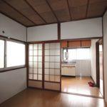 洋室4.5~DKキッチン 1階