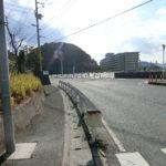前面道路左